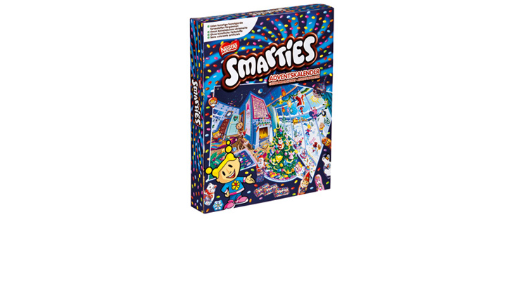 Smarties Adventtikalenterit